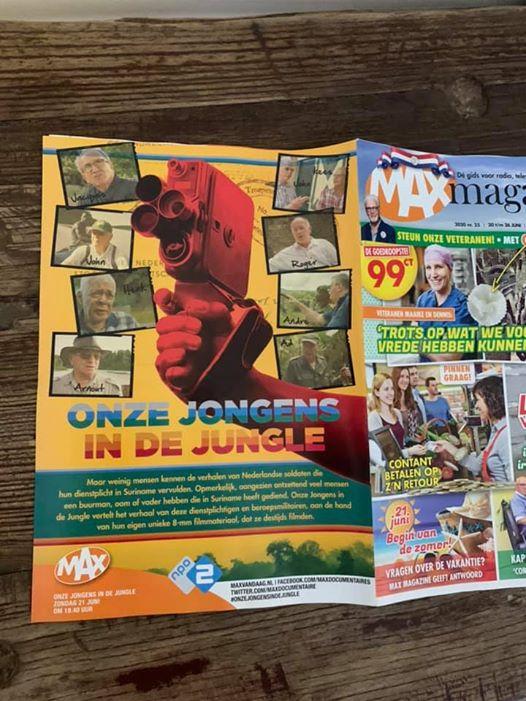 Achter cover Max Magazine